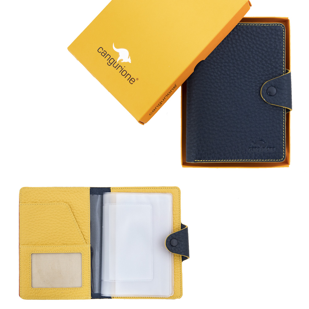 Cangurione 3305 F Dark Blue-Yellow 020
