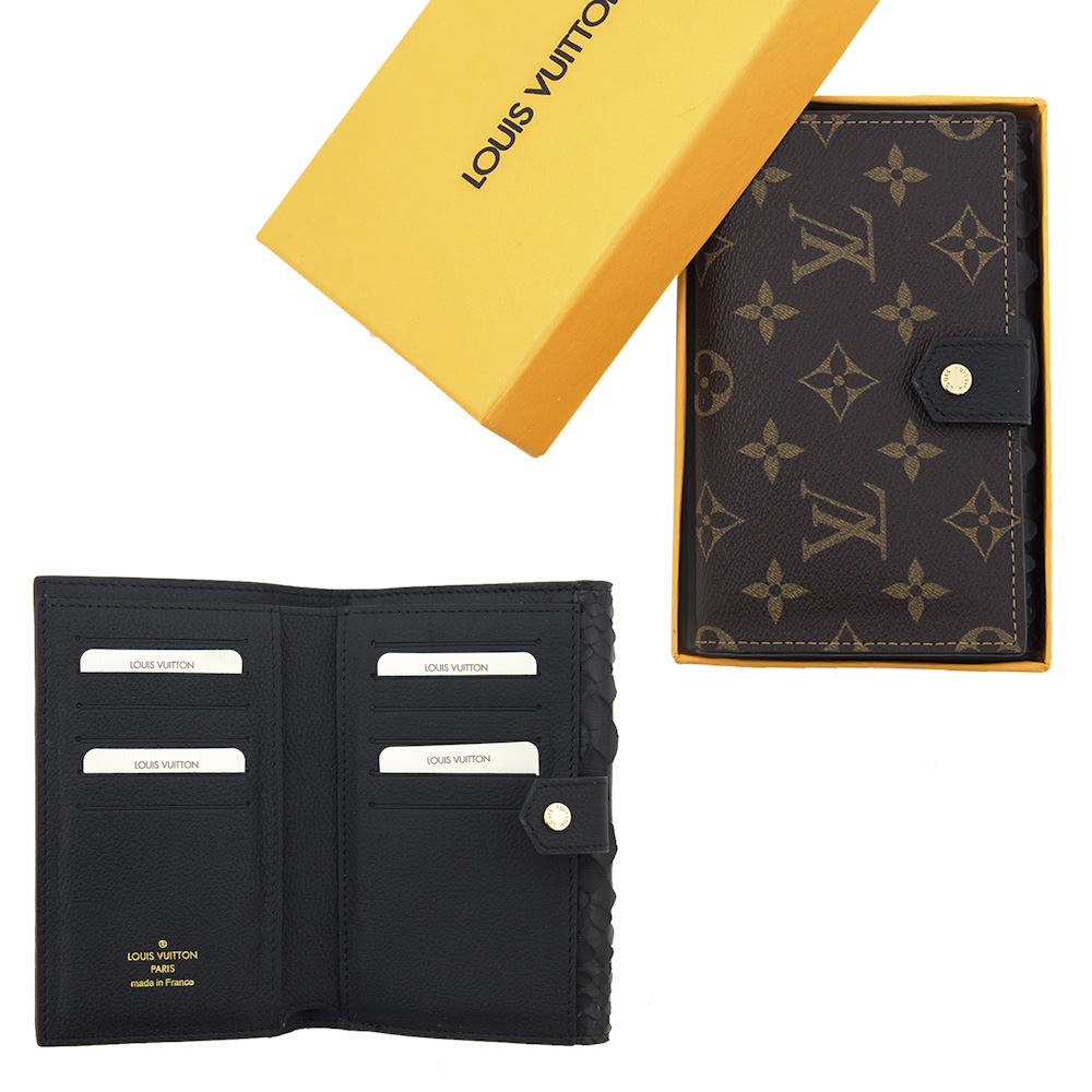 Louis Vuitton 4015 Black Piton