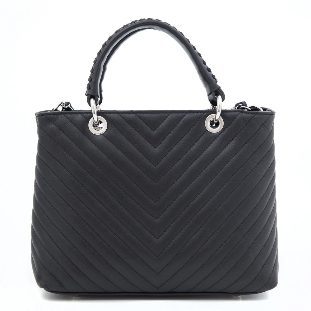 Leather Country 4091809 Black Silver