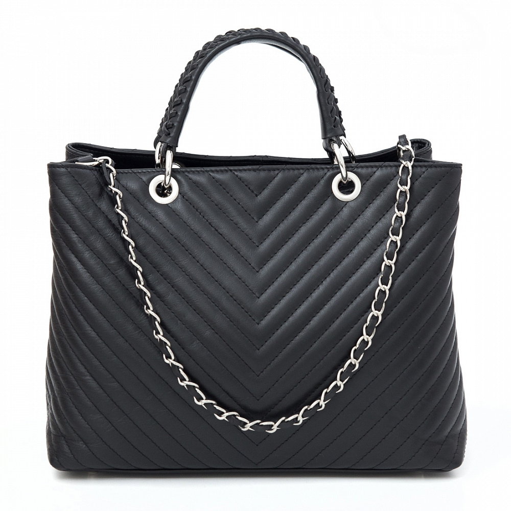 Leather Country 5092742 Black Silver